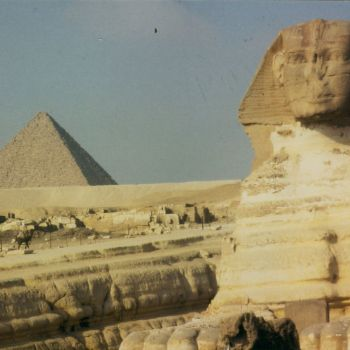 Cheops and Sphinx